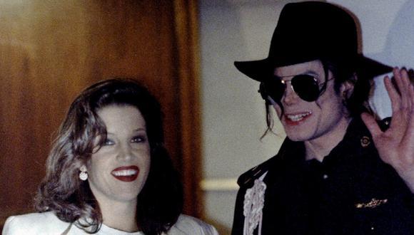 Michael Jackson y su entonces esposa Lisa Maria Presley. (Foto: REUTERS)