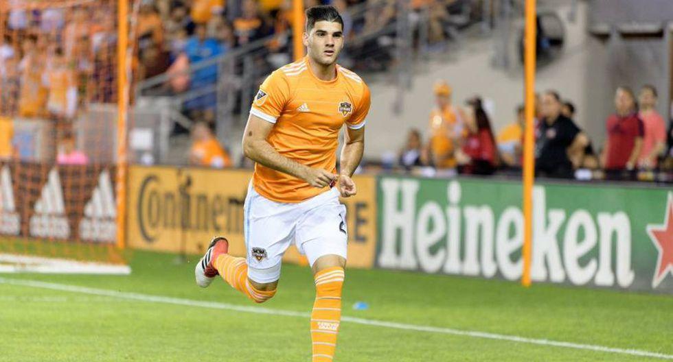 Defensa: Alejandro Fuenmayor - Houston Dynamo. (Foto: AFP)