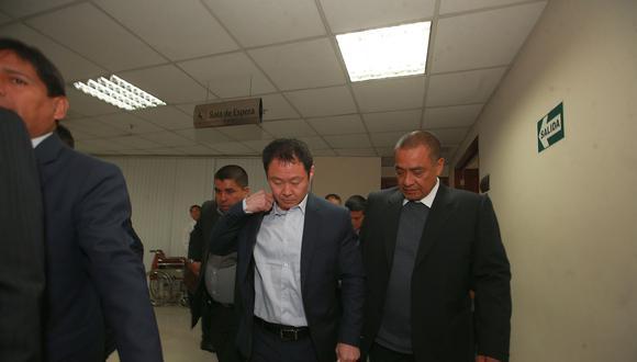 Este miércoles, el pleno del Congreso decidirá si Kenji Fujimori es desaforado o no. (Foto: Archivo El Comercio)