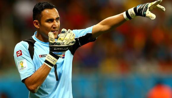Keylor Navas es el mejor portero del 2014 en la Concacaf