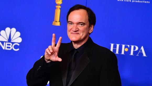 """Quentin Tarantino ha logrado 10 nominaciones con su película """"Once upon a time in Hollywod"""". (Foto: AFP)"""