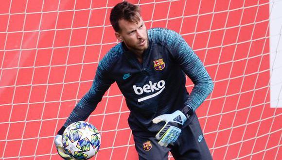 Neto Murara ha jugado un partido en la presente edición de la liga española. (Foto: AFP)