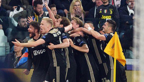 Ajax ha eliminado a Juventus y se metió a la semifinal de la Champions League. (Foto: EFE)