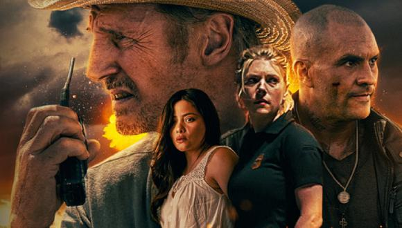 """Liam Neeson, Katheryn Winnick, Juan Pablo Raba y Teresa Ruiz son parte del elenco de """"El protector"""" (Foto: Open Road Films)"""