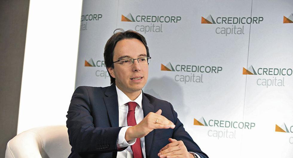 Daniel Velandia, economista jefe de Credicorp Capital, aseveró los datos de la confianza empresarial sobre la economía peruana presentan un deterioro, debido a la incertidumbre política que, incluso, es mayor frente al pesimismo que generó sobre las expectativas la crisis financiera internacional del 2008, así como el COVID-19. (Fuente:GEC)