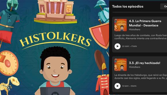 """Jorge Juárez y Daniel Tucto crearon """"Histolkers"""" a fines de abril, con el fin de proporcionar una herramienta educativa que ayude a maestros y alumnos durante las clases online. (Foto: Histolkers)"""