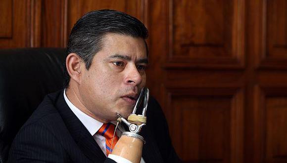 Galarreta: Propuesta de Lescano sobre referéndum es demagógica