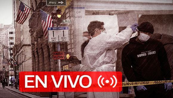 Coronavirus USA EN VIVO   Sigue aquí las últimas noticias y conoce la cifra actualizada de muertos e infectados por Covid-19 en Estados Unidos, hoy sábado 25 de abril de 2020   Foto: Diseño GEC