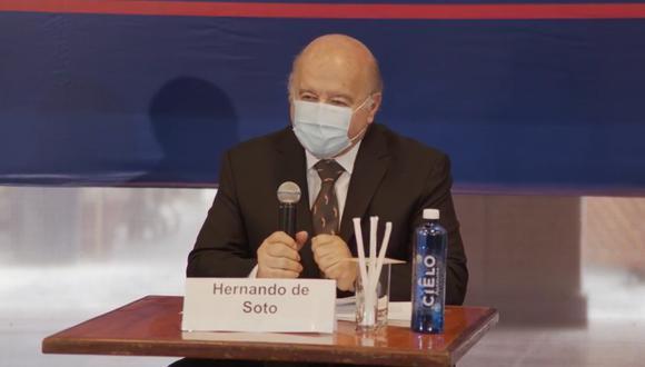 """De Soto dijo que busca tener una gestión de largo alcance """"en donde los ministros no salten como fusibles"""". (Foto: Difusión)"""