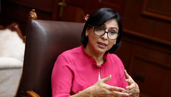 Ministra de Trabajo, Sylvia Cáceres (Foto: César Campos   GEC)