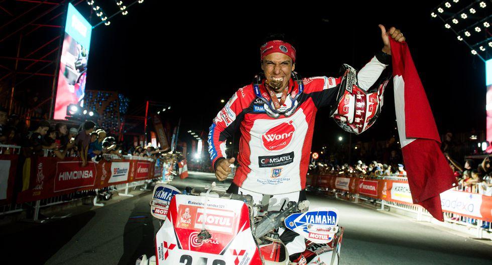 El cuatrimotista Alexis Hernández fue el mejor peruano de esta división consiguiendo un histórico 5to puesto en su cuarta participación en la carrera más difícil del mundo. (Foto: ITEA Photo)