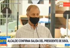 """Jorge Muñoz: """"No estoy en ninguna lista, no me he vacunado"""""""