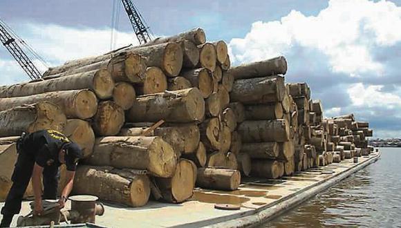 Ucayali: continúa lucha contra tráfico de madera