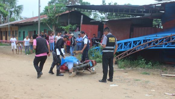 Emerson Joel Hermoza Quispe fue asesinado de cinco balazos cuando manejaba su moto. (Foto: PNP)