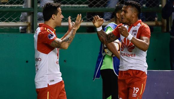 Santa Fe vs. Deportivo Cali. (Foto: AFP)