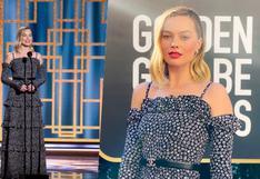 Golden Globes 2021: Margot Robbie y su vestido Chanel, de las favoritas de la gala