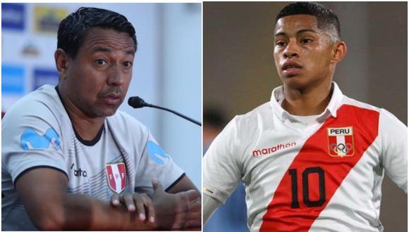 Nolberto Solano separó a Kevin Quevedo de la selección peruana sub 23 por indisciplina. (Foto: GEC)
