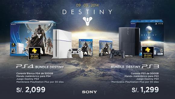Ya se puede reservar Destiny antes de su lanzamiento en Perú