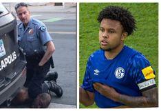 Weston McKennie, jugador del Schalke 04, pidió justicia por la muerte de George Floyd