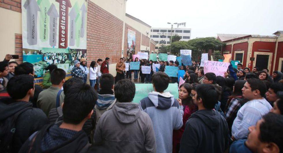 UNFV: estudiantes toman facultades en rechazo a sus autoridades - 8
