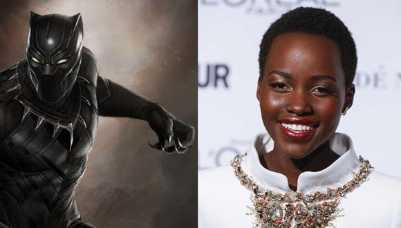 """""""Black Panther"""": Lupita Nyong'o aparecería en la película"""
