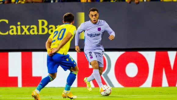 Barcelona igualó 0-0 con Cádiz por la fecha 6 de LaLiga Santander en el estadio Nuevo Mirandilla.