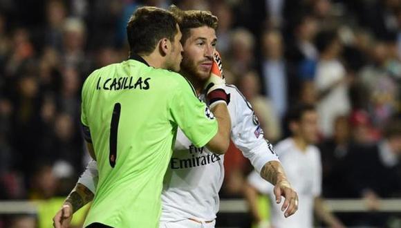 """Iker Casillas sobre Sergio Ramos: """"Siempre que un amigo se va, cuesta verlo en otro club"""""""