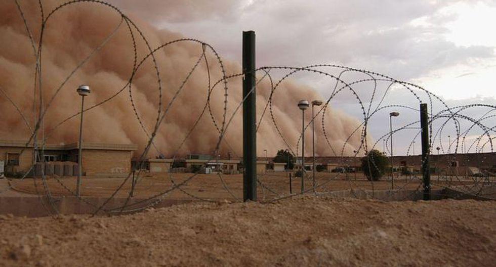Se estima que hay cerca de 1.500 soldados estadounidenses y aliados estacionados en la base Al Asad. Foto: Getty images, vía BBC Mundo