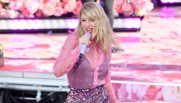Taylor Swift es la mujer mejor pagada de la industria musical según Forbes. (Foto: AFP)
