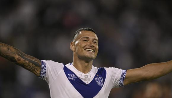 Mauro Zárate marcó en el Vélez Sarsfield vs. San Lorenzo. (Foto: Twitter)