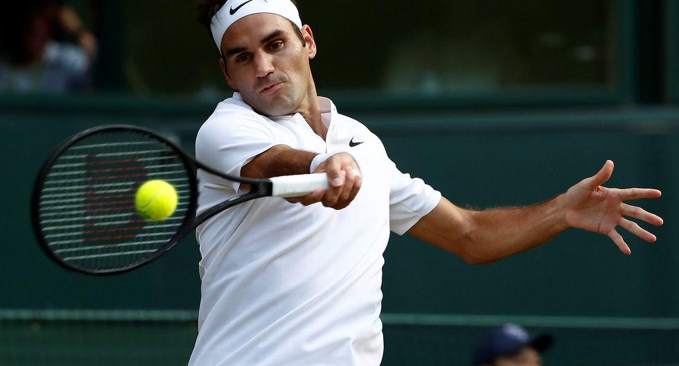 Roger Federer no pasó mayores apuros en la cuarta ronda de Wimbledon 2017. Derrotó al tenista búlgaro Grigor Dimitrov en un lapso de 1 hora con 37 minutos. (Foto: AFP)