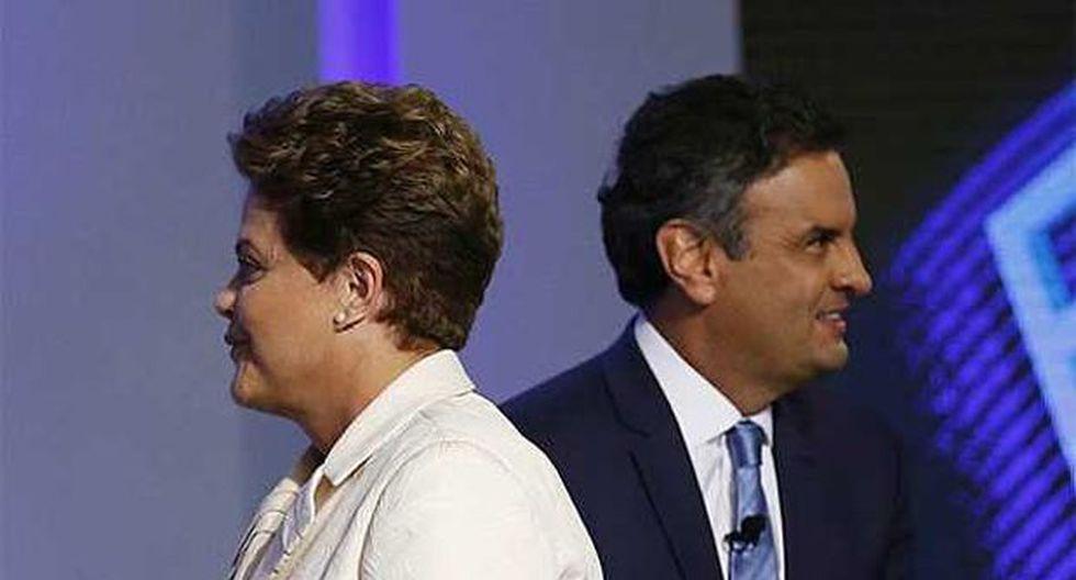 Rousseff vs. Neves: las diferencias en el balotaje de Brasil
