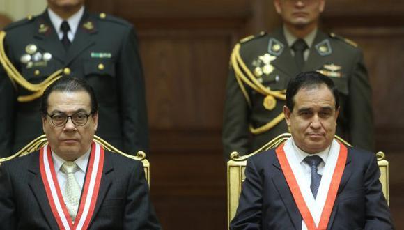 Otárola exhorta a nuevos magistrados del TC a no invadir fueros