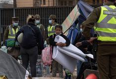 """UNICEF manifiesta su """"preocupación"""" por situación de migrantes venezolanos en Chile"""