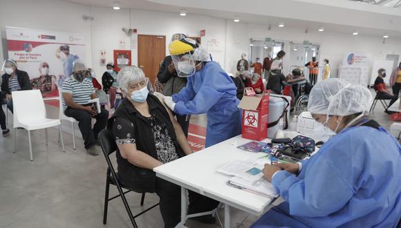 El proceso de vacunación contra el coronavirus a nivel nacional continúa avanzando | Foto: Referencial / El Comercio