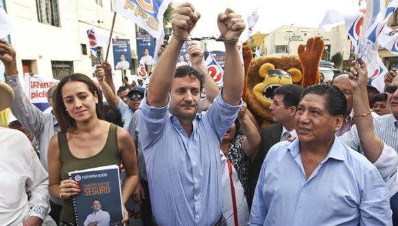 Renzo Reggiardo irá a elecciones en alianza con Ricardo Belmont
