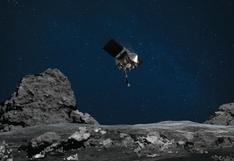 La NASA logra tocar la superficie de un asteroide por primera vez en su historia