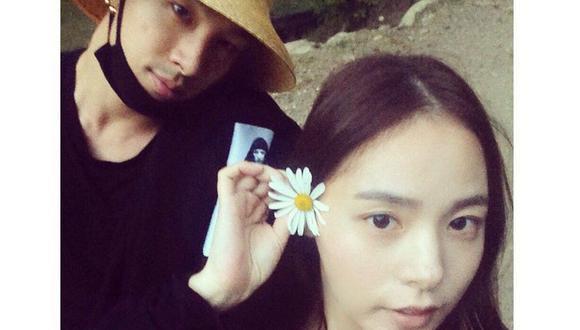 Taeyang de BIGBANG y Min Hyo Rin conforman una de las parejas más mediáticas en el continente asiático. (Foto: Taeyang - Min Hyo Rin (@__youngbae__ de Instagram))