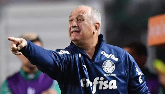Cruzeiro es el último equipo al que dirigió Luiz Felipe Scolari. (Foto: AFP)