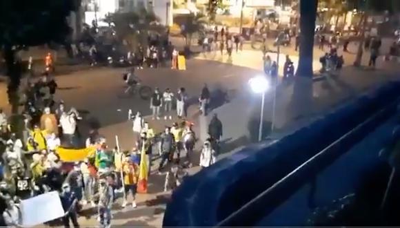 Disturbios en Pereira ponen en duda el encuentro entre Atlético Nacional vs. Nacional (Foto: Captura de Pantalla)