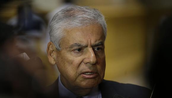 """""""Hemos asumido el pago de la responsabilidad política que nos corresponde"""", afirmó César Villanueva. (Foto: Archivo El Comercio)"""
