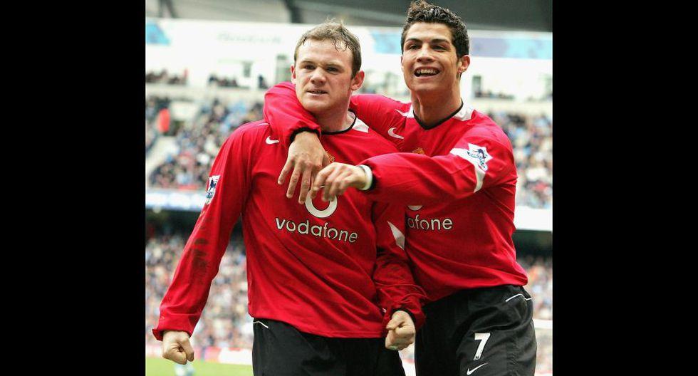 Wayne Rooney cumple una década en el Manchester United - 4