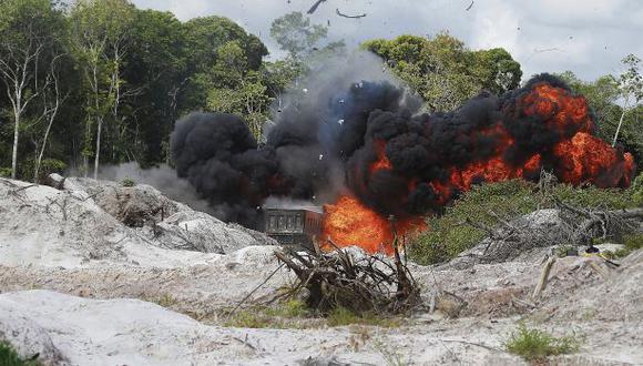 Loreto: minería ilegal amenaza la reserva Allpahuayo Mishana
