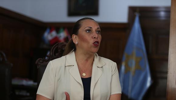 La decana del Colegio de Abogados de Lima (CAL), María Elena Portocarrero, indicó que los procesos se retrasaron debido al COVID-19. (Foto: GEC / video: Cuarto Poder)