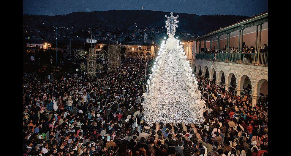 La procesión del Cristo resucitado, uno de los momentos cumbres de la creencia cristiana durante la Semana Santa ayacuchana.