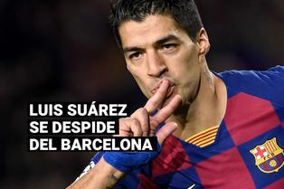 """Luis Suárez se despide del Barcelona: """"Siempre seré un culé más"""""""
