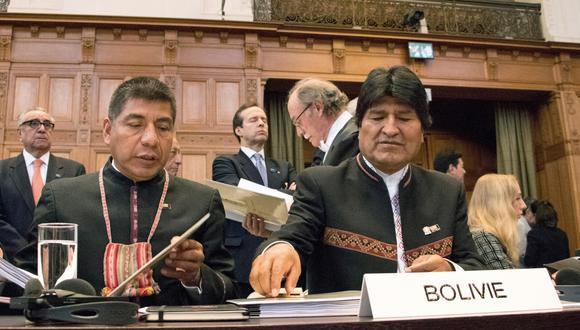 Bolivia presentó en el 2013 una demanda a la corte de La Haya contra Chile para conseguir un acceso soberano al Océano Pacífico. (EFE).