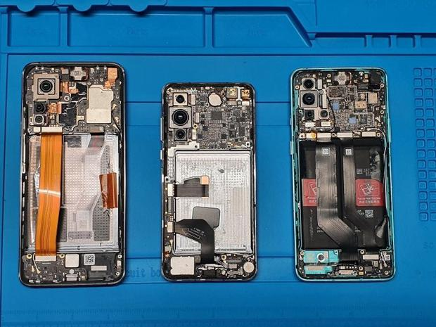 Xiaomi, Hawaii and OnePlus phones were inspected by the Lithuanian Ministry of Defense.  (Lithuania / Ministry of Defense of Appointments).