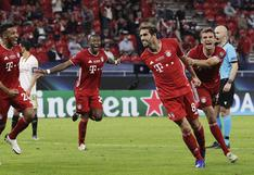 Bayern Múnich vs. Sevilla: el gol de Javi Martínez para el 2-1 en el alargue de la Supercopa [VIDEO]