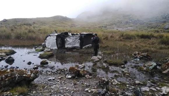 Huancavelica: camioneta cae a un abismo y deja cuatro muertos